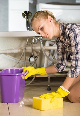Home Remodeling: First Part of Clean up After a Flood